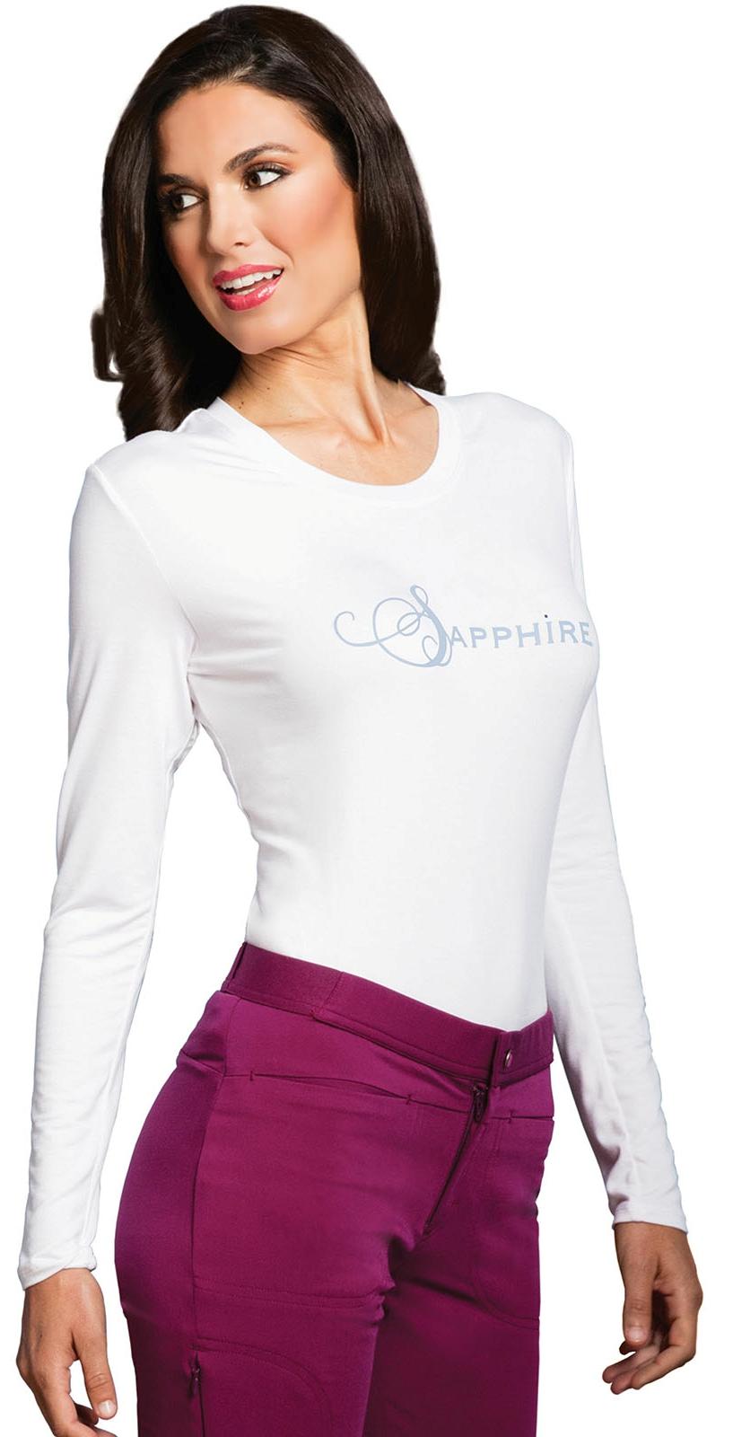 Женская футболка с длинным рукавом Sapphire SA603A