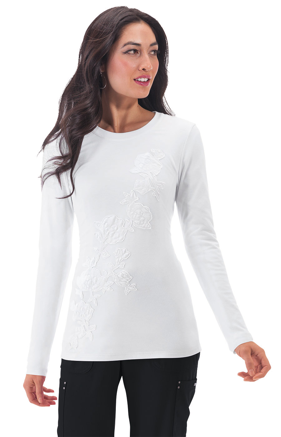 Женская футболка с длинным рукавом Koi 261PLM